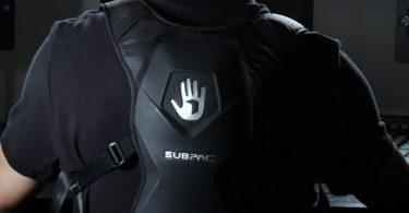 Subpac M2X Pro Wearable Bass