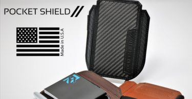 Pocket Shield // Ultra-Thin, Luxury Minimalist Wallet & Productivity Tool