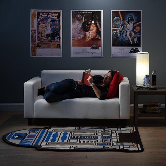 Star Wars R2-D2 Cutout Rug