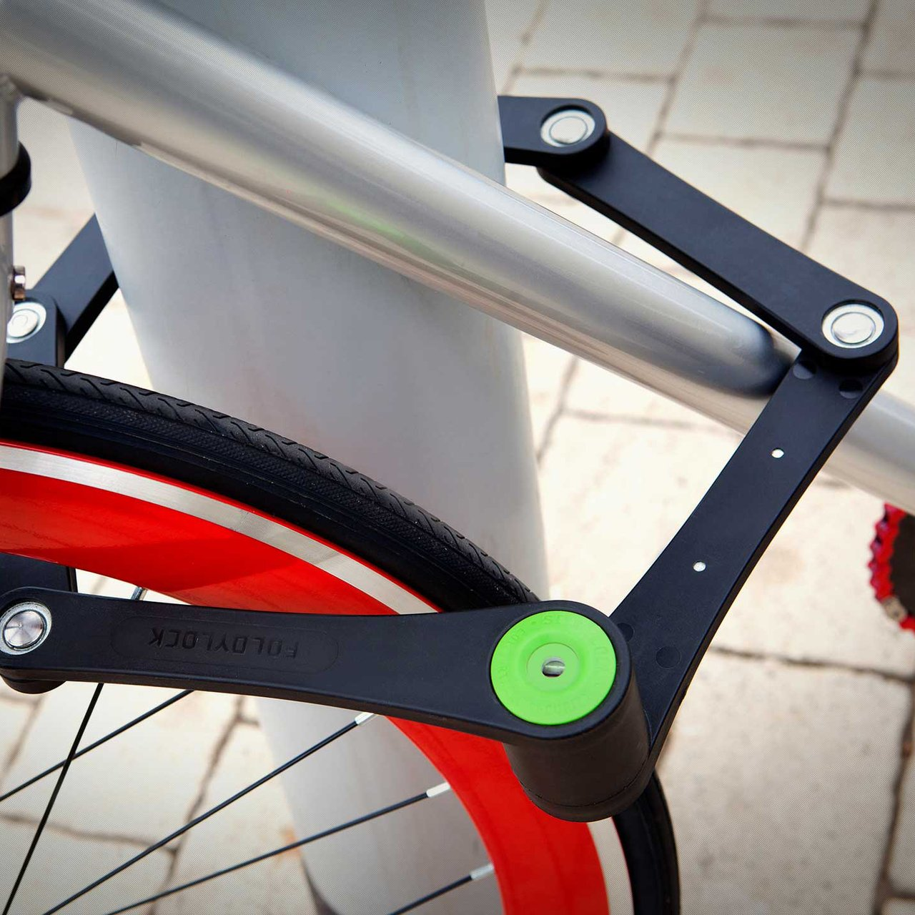 Sigtuna Folding Bike Lock 187 Petagadget