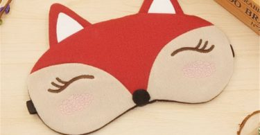 Drasawee Kawaii Comfort Sleeping Ice Bag Stuffed Eye Mask