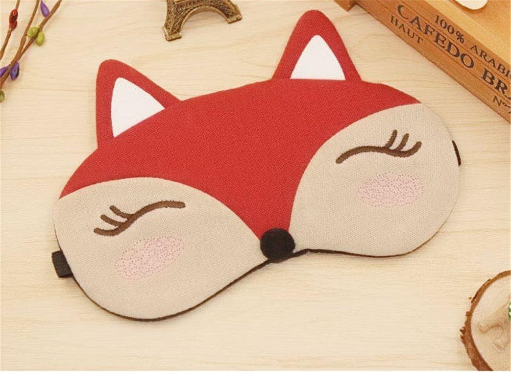 Drasawee Kawaii Comfort Sleeping Ice Bag Stuffed Eye Mask