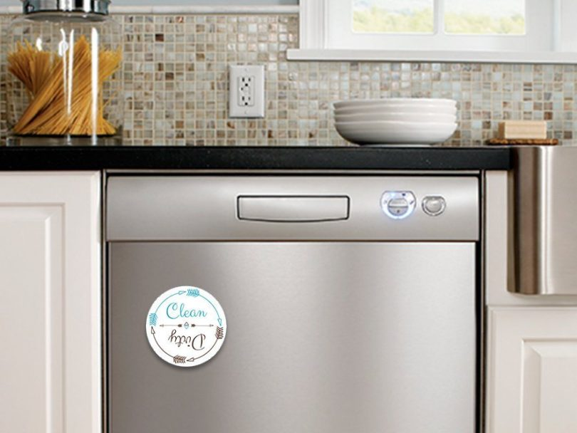 Dishwasher Magnet Clean Dirty