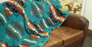 Pendleton Chief Joseph Aqua Blanket