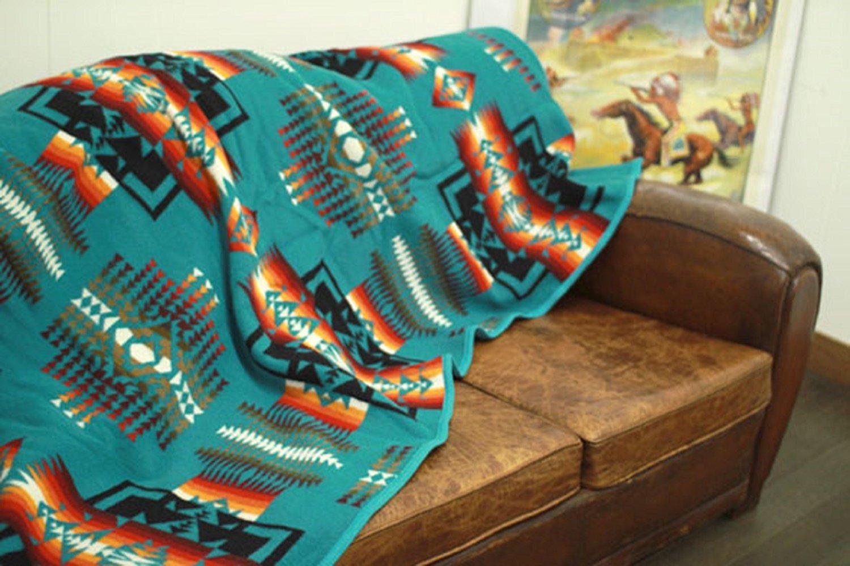 Pendleton Chief Joseph Aqua Blanket