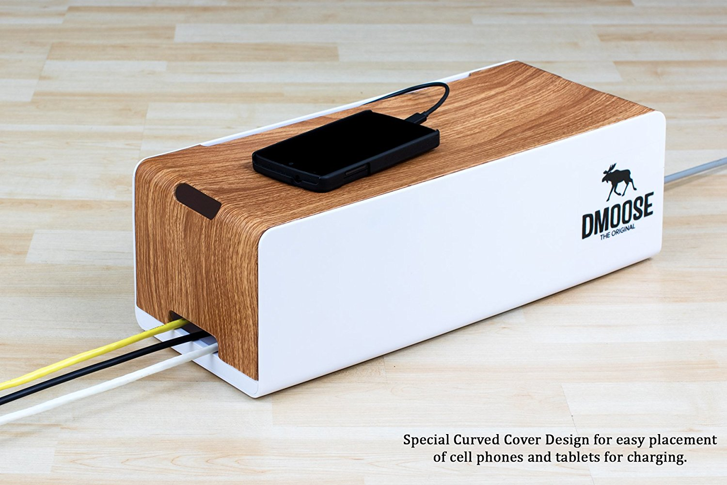 Cable Management Box Organizer by DMoose