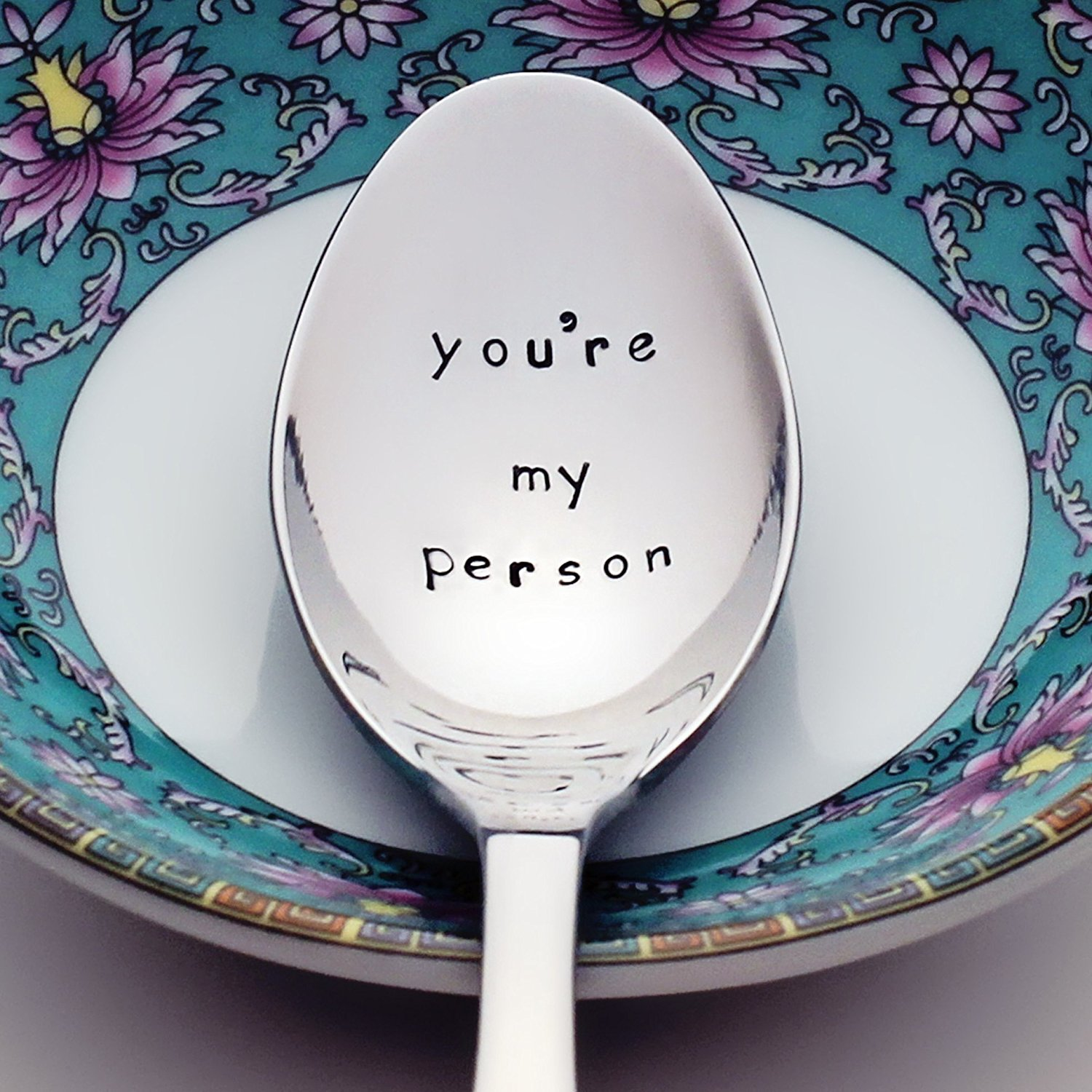 You're My Person – Grey's Anatomy Inspired Stamped Spoon