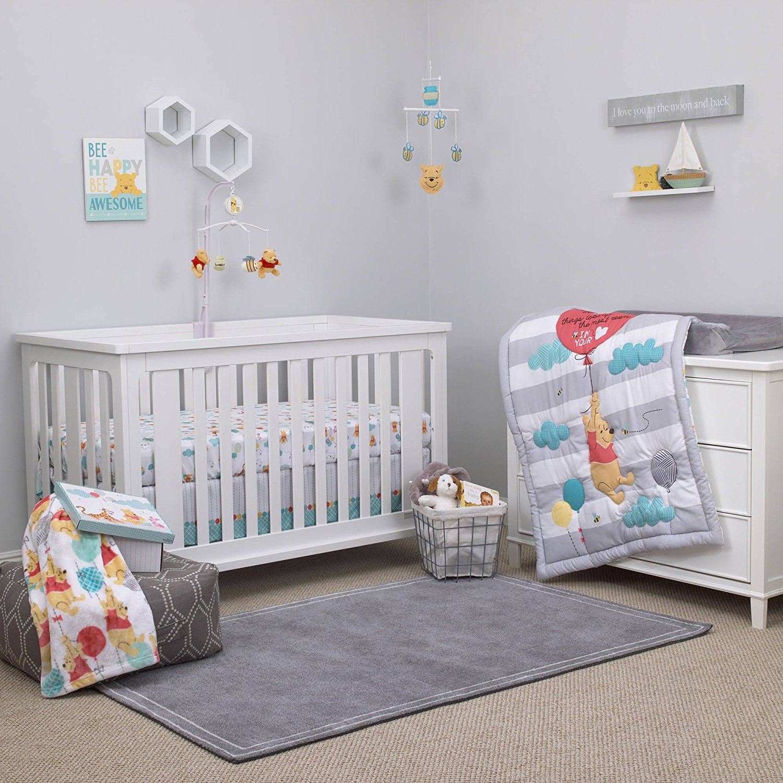 Disney Winnie The Pooh Crib Bedding Set 187 Petagadget