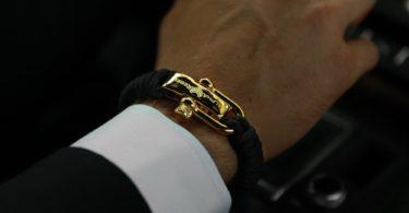 KCUF Luxury Paracord Bracelet 24K Gold