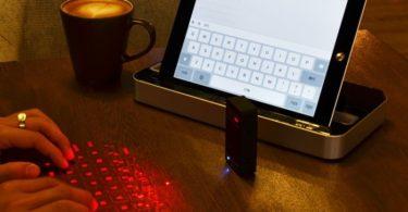 Portable Bluetooth Virtual Laser Keyboard