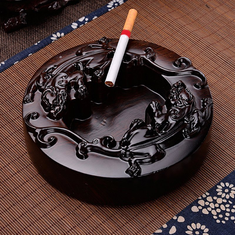 Ebony Ashtray