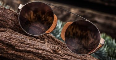 Earth Wood Talisay Polarized Sunglasses