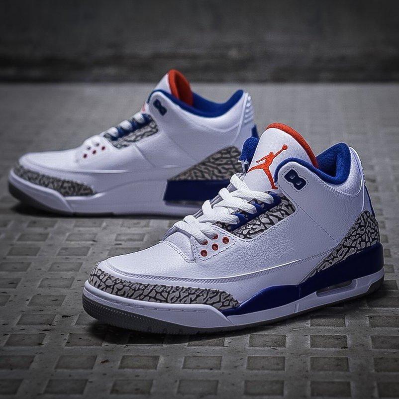 Jordan 3 True Blue 2016