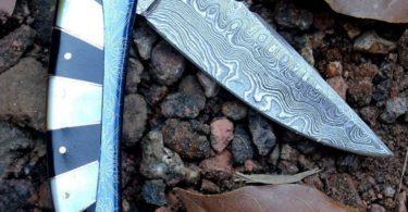 HTK-245 Damascus Knife