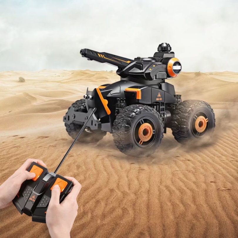 RC Military Car with Water Jet
