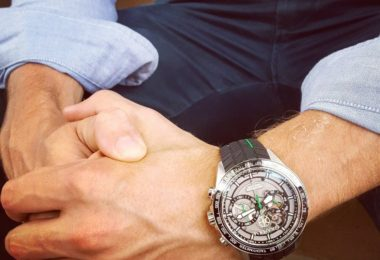 Graham Silverstone RS Skeleton Chronograph Watch