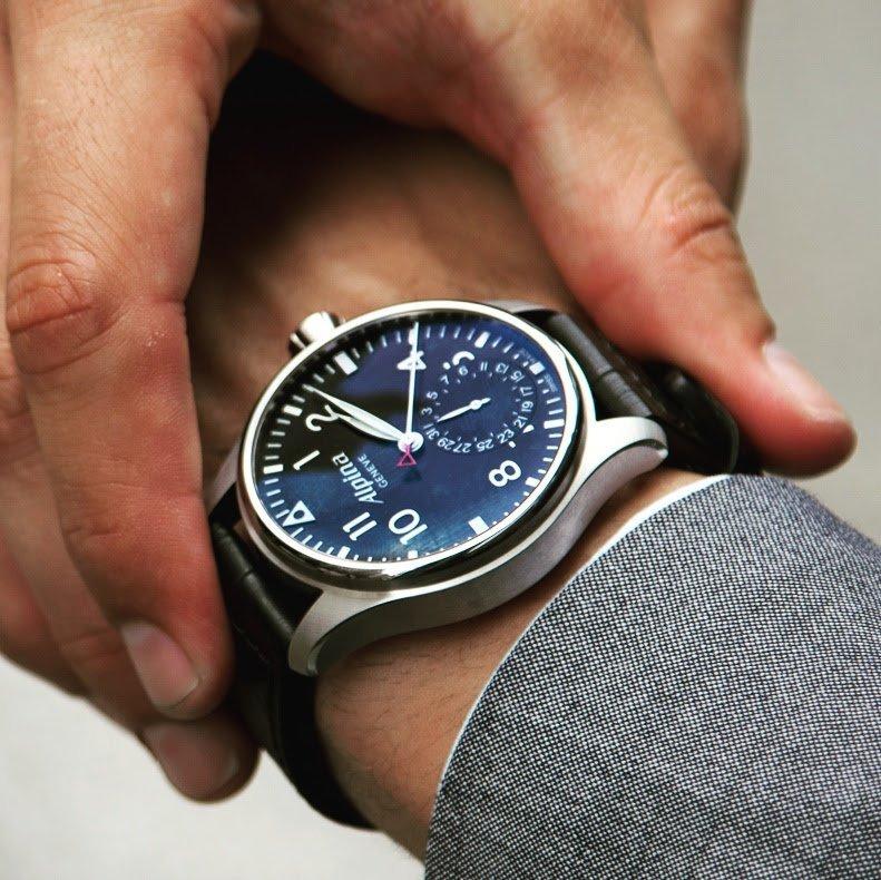 Alpina Startimer Pilot Automatic Watch Petagadget - Alpina automatic watch