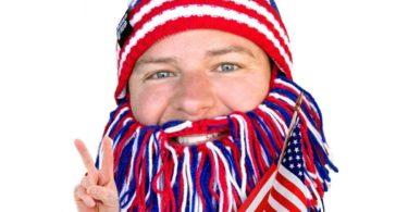 Barbarian Patriot Beard Head