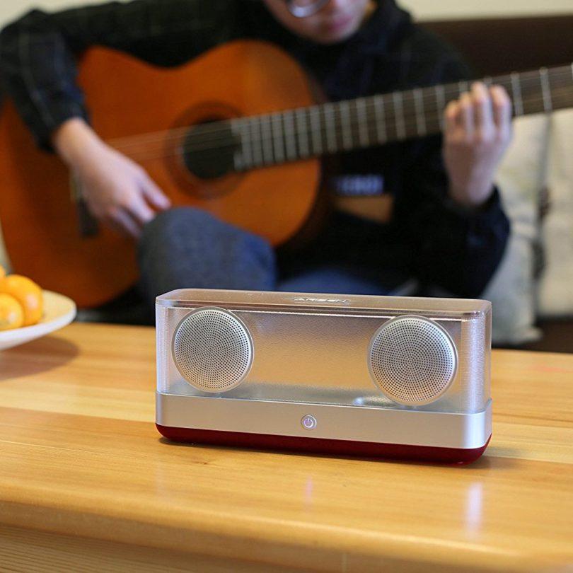 Windbox Transparent Bluetooth 4.2 Speakers