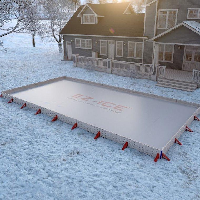EZ ICE Backyard Ice Rink Kit » Petagadget
