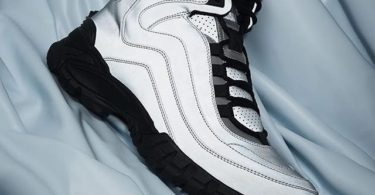 Versace Silver Reflective Greek Key Formal High-Top Sneakers
