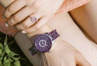 Dior Christal Stainless Steel Diamond Watch