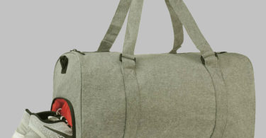 Light Grey Zandago Duffel