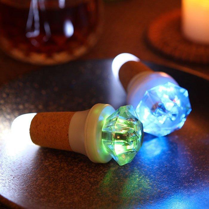 Colorful Wine Bottle Lights