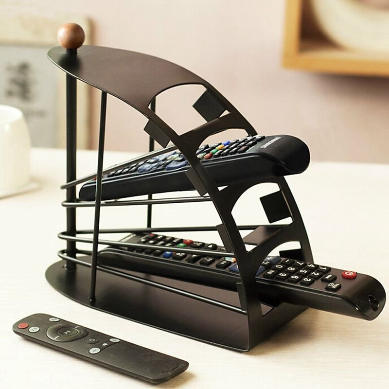 remote control organizer rack petagadget. Black Bedroom Furniture Sets. Home Design Ideas