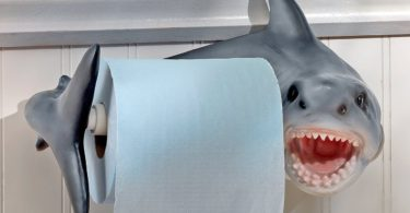 Shark Attack Toilet Paper Holder