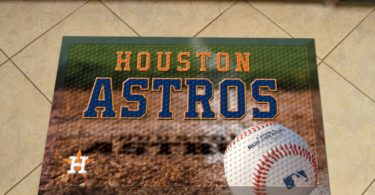 Houston Astros Scraper Mat 19×30