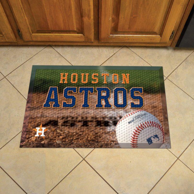 Houston Astros Scraper Mat 19×30