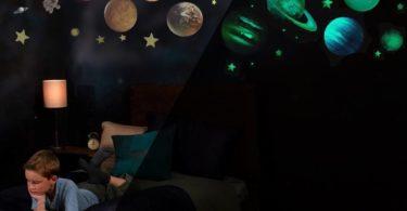 Glow in the Dark Solar System War Decals