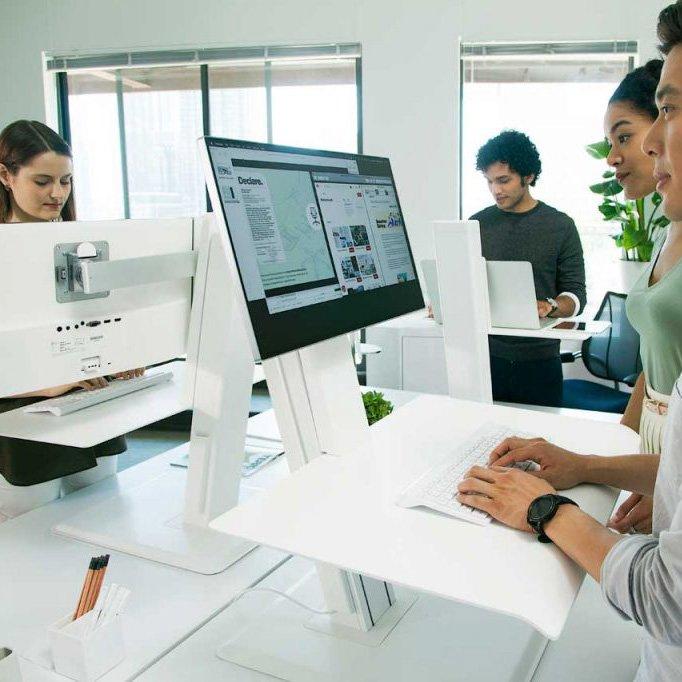 Humanscale Height Adjustable QuickStand Lite Desk