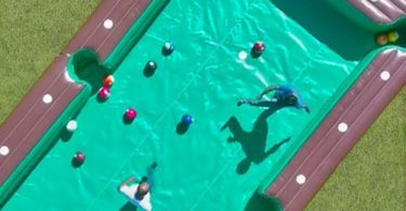 Inflatable Billiard Soccer