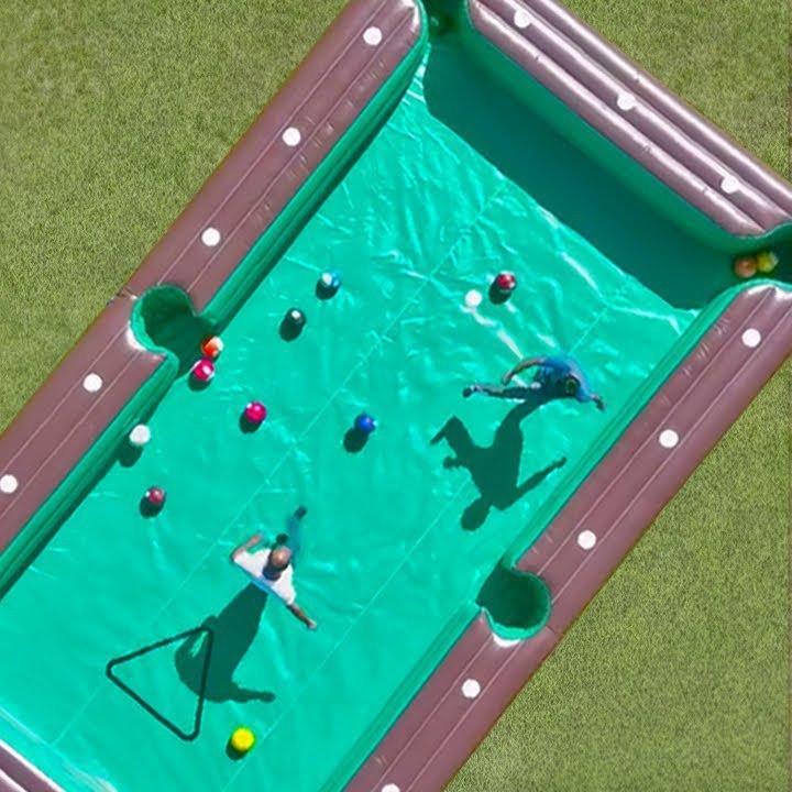 Inflatable Billiard Soccer