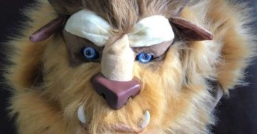 Beauty and the Beast Costume Mouth Mover Mask