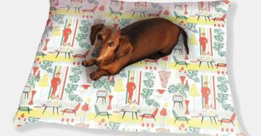 Fifties Dog Pillow Luxury