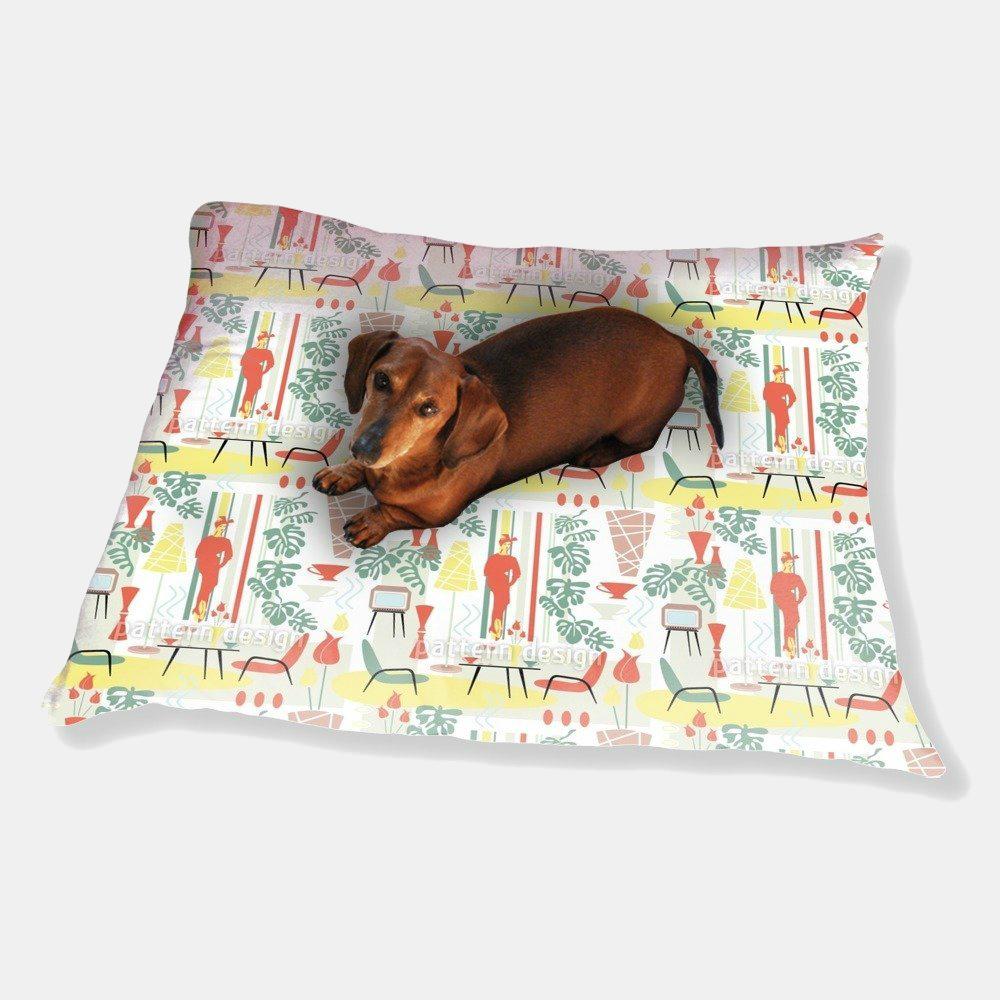 Fifties Dog Pillow Luxury 187 Petagadget