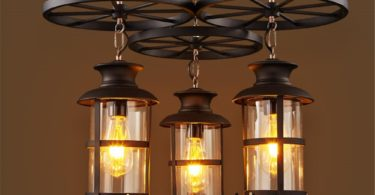 ShengYe Rustic Style Ceiling Pendant Lamp