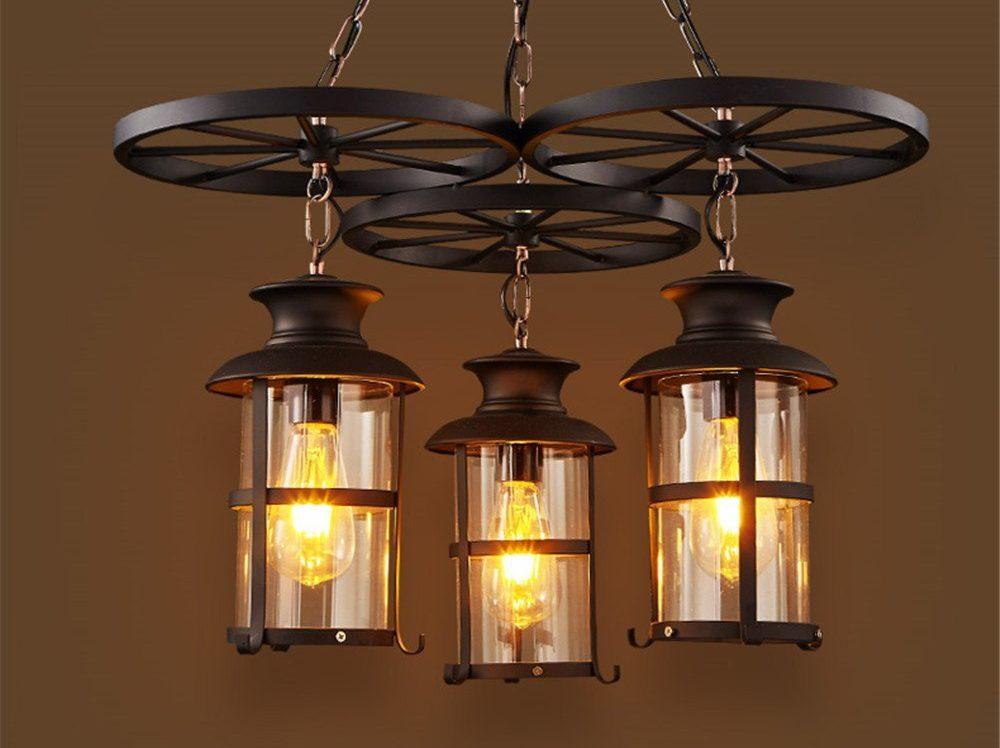 ShengYe Rustic Style Ceiling Pendant Lamp
