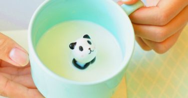 ZaH 300ml 3D Animal Cup Morning Mug, Panda