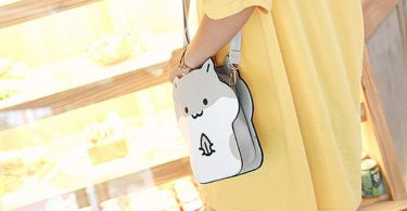DanSoul Women's Cross-Body Handbags Anime Cute Animal