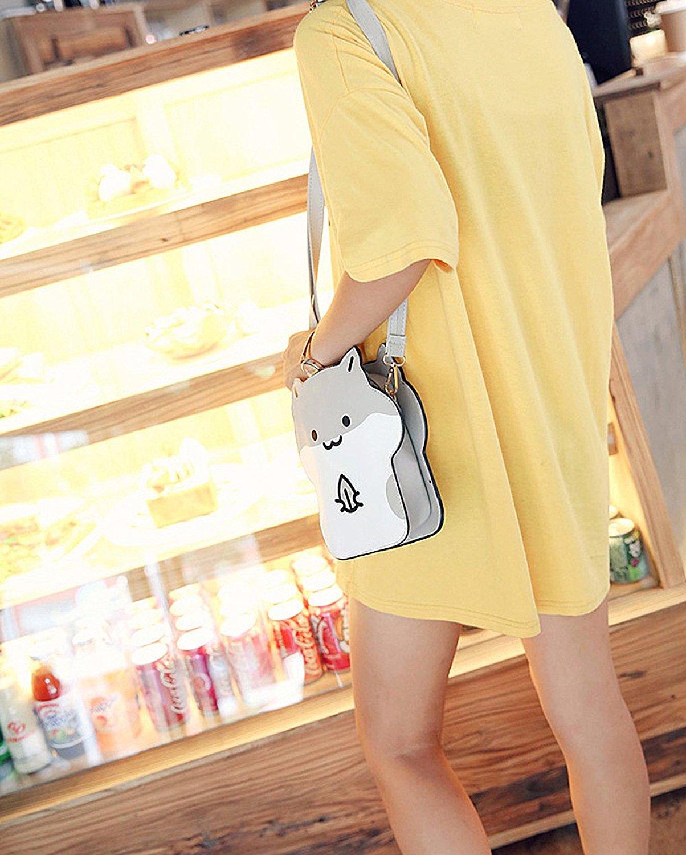 DanSoul Women's Cross-Body Handbags Anime Cute Animal