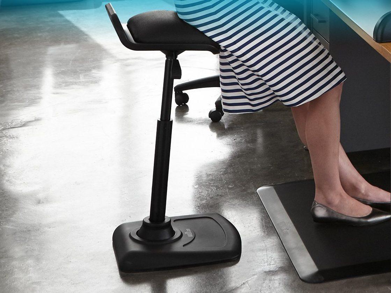 Varidesk Adjustable Standing Desk Chair 187 Petagadget