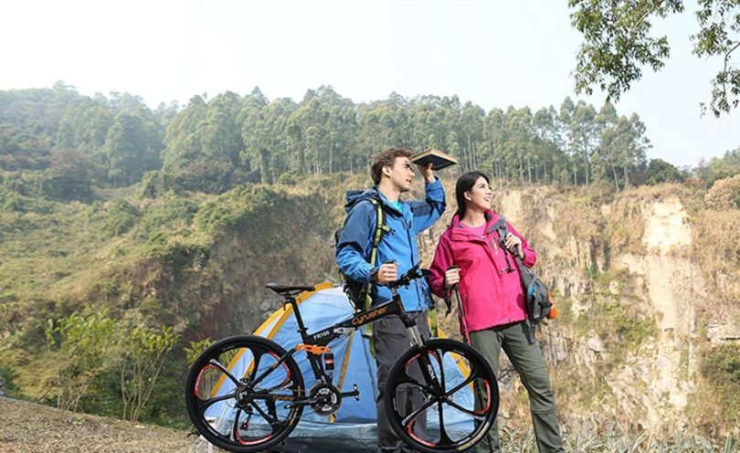 Cyrusher FR100 Folding Mountain Bike