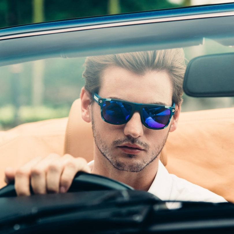 Ned Kelly Edition Blue Camouflage Sunglasses by BÆNDIT