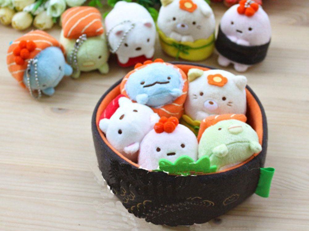 Sumikko Gurashi Plush Sushi Toy