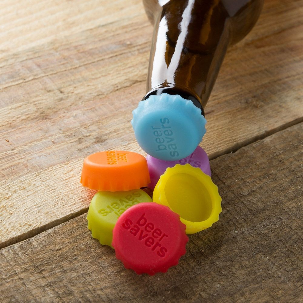 Beer Savers – Silicone Rubber Bottle Caps by KegWorks