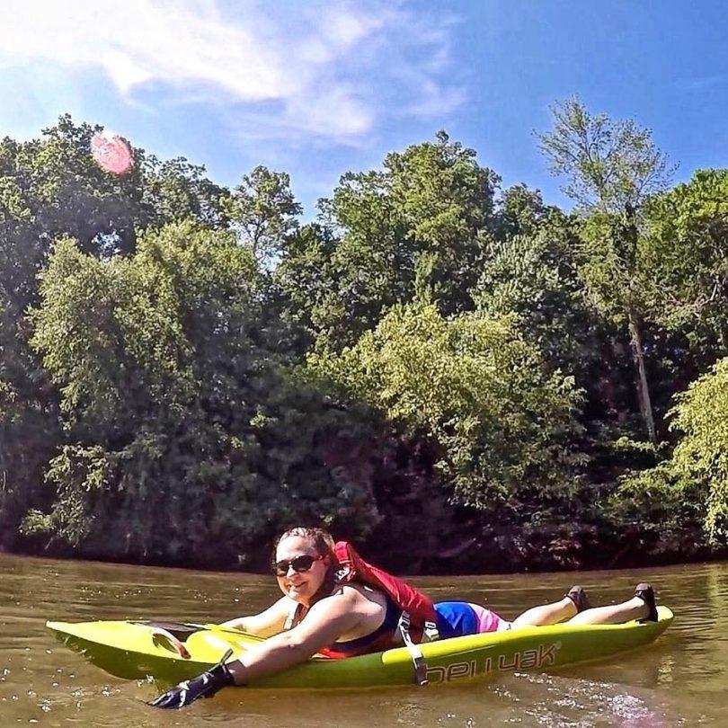 Bellyak Prone Kayak